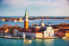 San Giorgio Maggiore island, Venice Stock Image