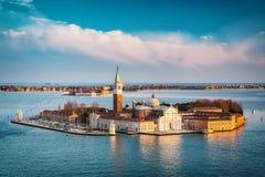 San Giorgio Maggiore island, Venice Royalty Free Stock Photos