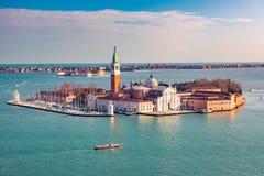 San Giorgio Maggiore island, Venice Royalty Free Stock Photography