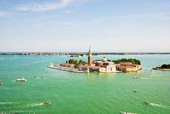 San Giorgio Maggiore island, Venice, Italy Stock Images