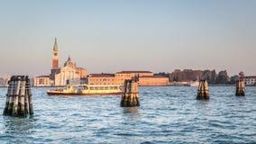 San Giorgio Maggiore island, Venice, Italy Stock Photography