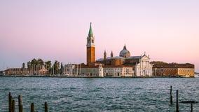 San Giorgio Maggiore island, Venice, Italy Stock Photo
