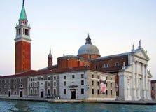 San Giorgio Maggiore kościół w Wenecja Włochy i wyspa obrazy stock