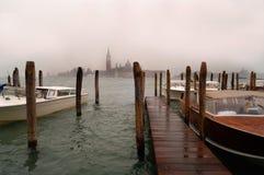 San Giorgio Maggiore Rain, Venice Royalty Free Stock Image