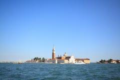 San Giorgio Maggiore, Venedig Arkivbilder