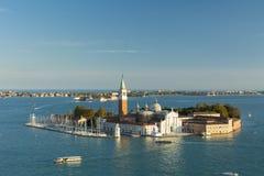 San Giorgio Maggiore - Venedig Arkivbilder
