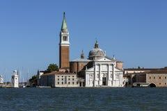San Giorgio Maggiore - Venedig - Italien Royaltyfria Foton