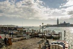 San Giorgio Maggiore in Venetië, Italië, 2016 Stock Afbeelding