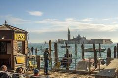 San Giorgio Maggiore in Venetië, Italië, 2016 Royalty-vrije Stock Foto