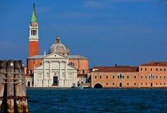 San Giorgio Maggiore in Venezia Stock Foto's