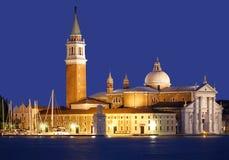 San Giorgio Maggiore in Venice Royalty Free Stock Image