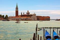 San Giorgio Maggiore at Venice Stock Photography