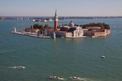 San Giorgio Maggiore in Venice Royalty Free Stock Photo
