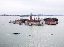 San Giorgio Maggiore in Venice, Italy Stock Images
