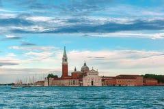 San Giorgio Maggiore in Venice lagoon, Italia Royalty Free Stock Photos