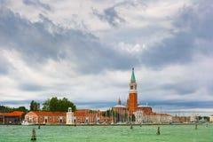 San Giorgio Maggiore in Venice lagoon, Italia Stock Image