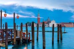 San Giorgio Maggiore in Venice lagoon, Italia Stock Images