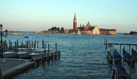 San Giorgio Maggiore Wenecja Włochy zdjęcie stock