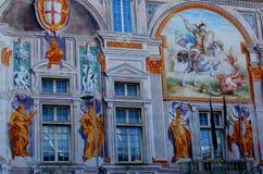 San Giorgio Palace, Genoa, Italy Stock Images