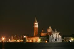 San Giorgio's church in Venic Stock Photos