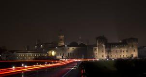 San Giorgio slott royaltyfria foton