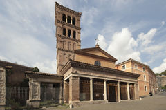 San Giorgio in Velabro Royalty Free Stock Photo