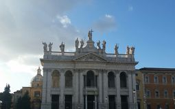 San giovani basilica in rome Royalty Free Stock Photography
