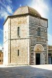 San Giovanni Baptistery, Volterra, Italy Royalty Free Stock Image