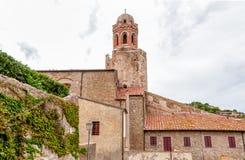 San Giovanni Battista Church of Castiglione della Pescaia, Italy Stock Photos