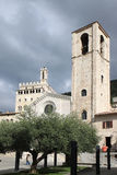 San Giovanni Battista Church, Gubbio, Italy Royalty Free Stock Images