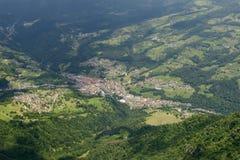 San Giovanni Bianco village, Italy Royalty Free Stock Photos