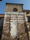 San Giovanni church. Lucca Tuscany Stock Images