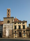 San Giovanni church. Lucca Tuscany Stock Photos