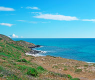 San Giovanni coast Stock Images