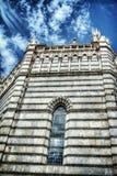 San Giovanni in Corte baptistery facade in hdr Stock Photo