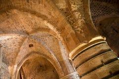 San Giovanni d'Acri, Israele - cittadella e prigione Immagini Stock Libere da Diritti