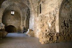 San Giovanni d'Acri, Israele - cittadella e prigione Immagini Stock