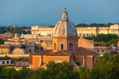 San Giovanni dei Fiorentini church in Rome, Italy Royalty Free Stock Image