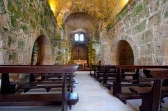 San Giovanni di Sinis. Paleochristian basilica. Sardinia. Italy Stock Photos
