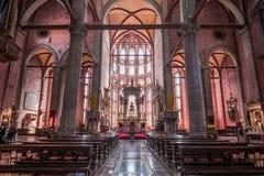 San Giovanni e Paoli church, Venice, italy Royalty Free Stock Image