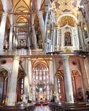 The San Giovanni e Paolo church inside, Venice Royalty Free Stock Photo