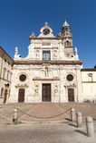 San Giovanni Evangelista en Parma Imágenes de archivo libres de regalías