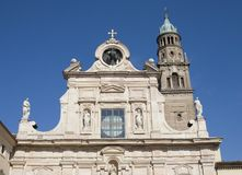 San Giovanni Evangelista kyrka, Parma Royaltyfria Bilder