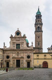 San Giovanni Evangelista, Parme, Italie Photos libres de droits