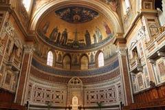 San Giovanni i den Laterano absid, Rome, Italien Arkivbild