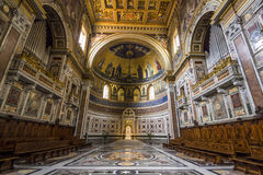San Giovanni i Laterano i Rome Arkivbilder
