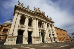 San Giovanni in Laterano. Exterior of San Giovanni in Laterano Church in Rome, Italy stock photography