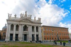 San Giovanni na basílica Roma de Laterano Fotos de Stock Royalty Free