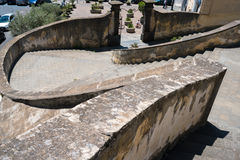 San Giovanni un Carbonara à Naples Photo libre de droits