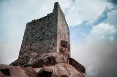 San Giovanni watchtower on Elba Island stock images